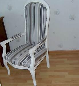 Fauteuil Voltaire Moderne : fauteuil voltaire r novations de fauteuils ~ Teatrodelosmanantiales.com Idées de Décoration