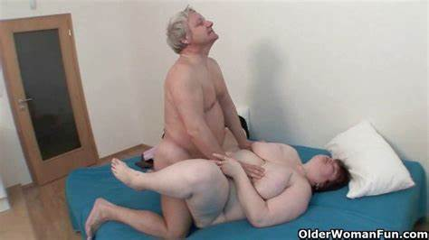 Like Granny Pleases Grandpa In Law Muscle Matures Jindri And Alena Still Loves Banged