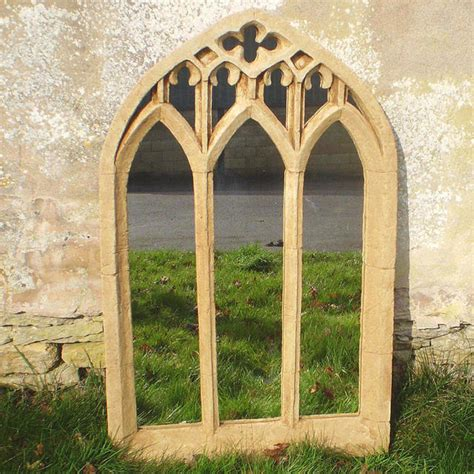 buy large arch garden mirror the worm that