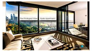 Luxurious Penthouse Dramatic Interior The Privileged View Of The Luxury Hyde Apartment Building In Sydney