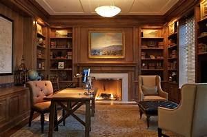 Library Home Office Beautiful Decor Idea - Decosee com