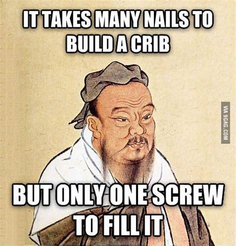 Confucius Say Meme - confucius say lolwut pinterest