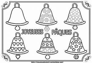 Coloriage De Paque : coloriage paques cloches ~ Melissatoandfro.com Idées de Décoration