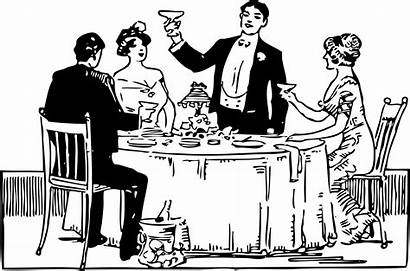 Clipart Meal Catering Dinner Transparent Table Party