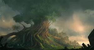 Yggdrasil by JJcanvas on DeviantArt