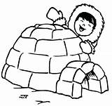 Igloo Coloring Eskimo Pages Drawing Printable Penguin Kid Happy Template Preschool Clipartmag Bulkcolor Getcolorings Letter American Hut Templates sketch template
