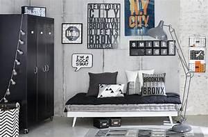 Chambre Deco Industrielle : id e d co chambre gar on blog deco clem around the corner ~ Zukunftsfamilie.com Idées de Décoration