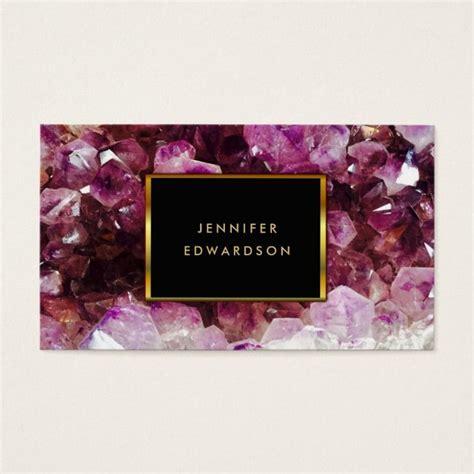Purple amethyst gemstone crystal professional business