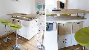 Ilot Cuisine Kallax Ikea