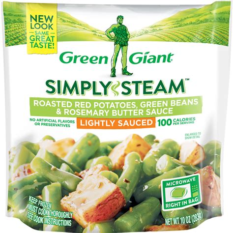 green giant simply steam roasted potatoes green beans