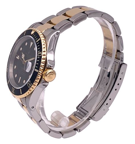 Rolex Submariner Two Tone 18KT Yellow Gold/Stainless Steel ...