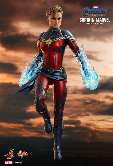 captain marvel   avengers endgame hot toys figure