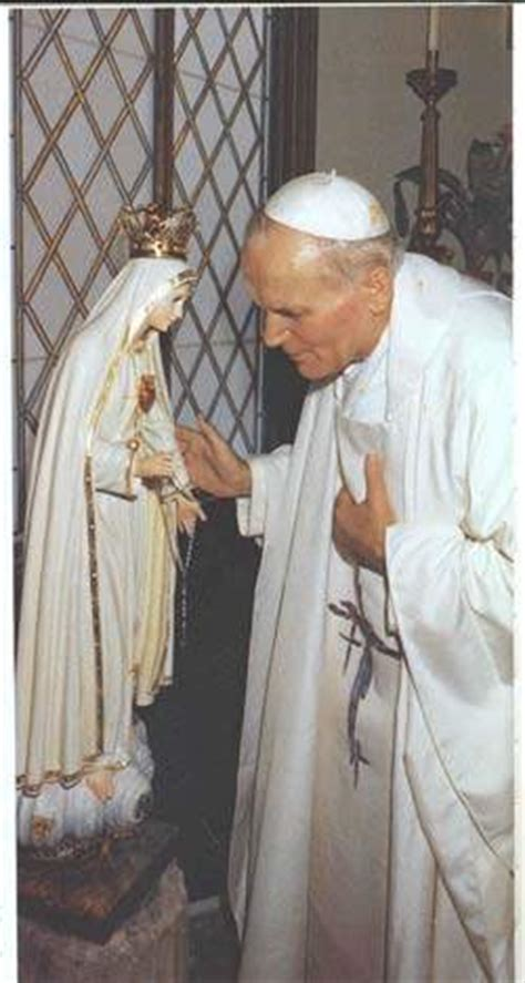 st john paul iis consecration prayer   lady