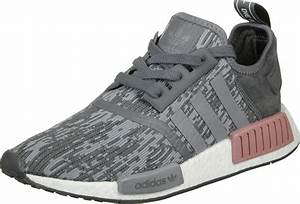 Adidas NMD R1 W Shoes Grey Pink