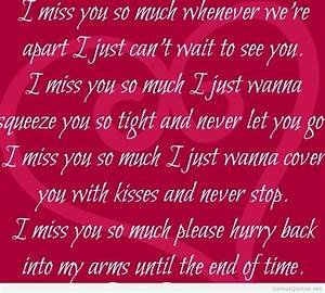 I miss you quot... Miss Some1 Quotes