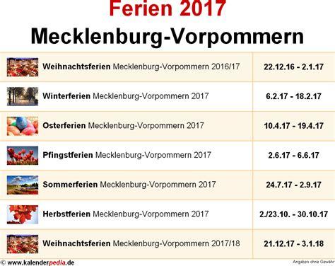 grunderwerbsteuer mecklenburg vorpommern 2017 ferien mecklenburg vorpommern 2017 220 bersicht der ferientermine