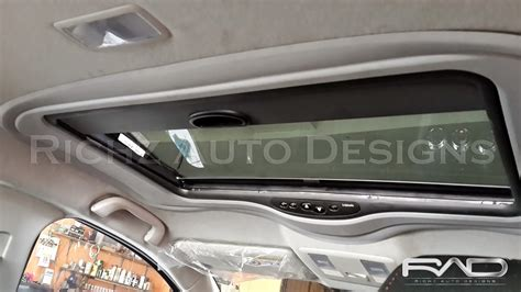 richz auto designs sunroof webasto