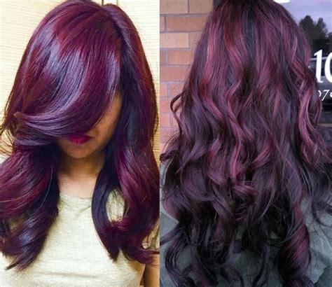 tendance couleurs cheveux hiver  choisissez votre
