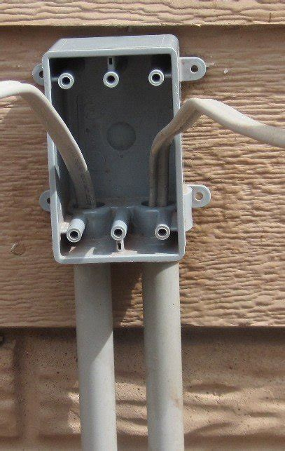How Install Outdoor Junction Box Electrical Diy