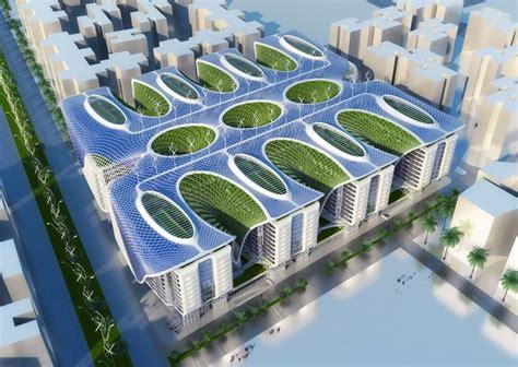 The Gate Residence Cairo Egypt Futuristic Architecture
