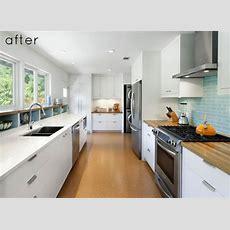 Long Narrow Kitchen Design  Galley Kitchen Designs, If I