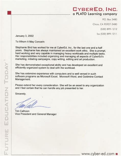 how to write a letter of recommendation for a how to write a letter of recommendation for an employee