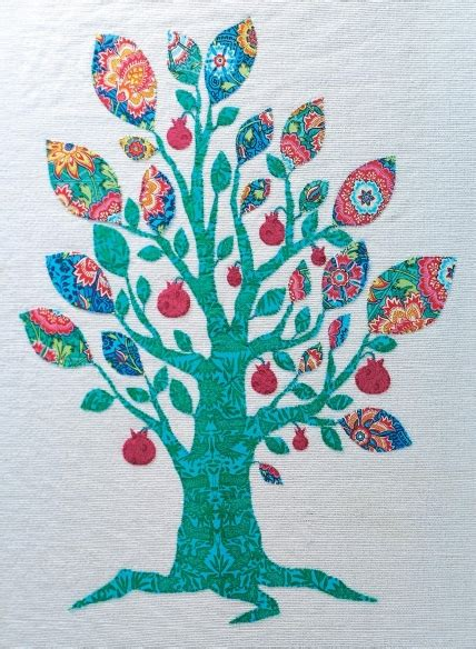 tree  life applique picture  sewing patterns sew