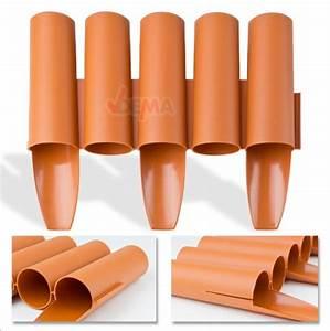 Bordure Plastique Jardin : bordure bordurette de jardin plastique 2700 mm flexible ~ Premium-room.com Idées de Décoration