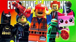 Everything is Awesome The Lego Movie Music Video - YouTube