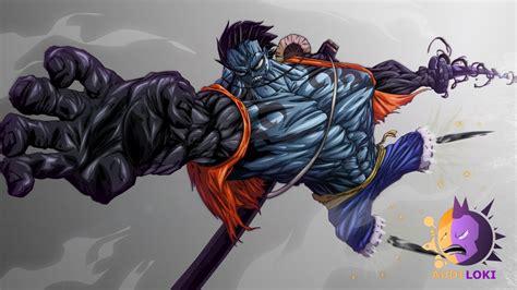 Luffy Gear 4th Nightmare Concept Art