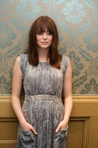 Emma Stone - bangs with straight hair | Hairstyles ...
