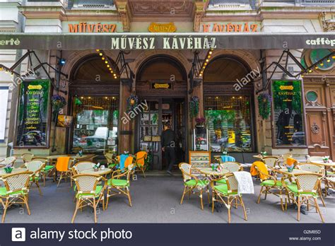 We founded district coffee out of a desire for a comfortable work space and high quality coffee in a growing. The Muvesz Coffee House on Andrassy Ut in the Terezvaros district of Stock Photo: 104936985 - Alamy