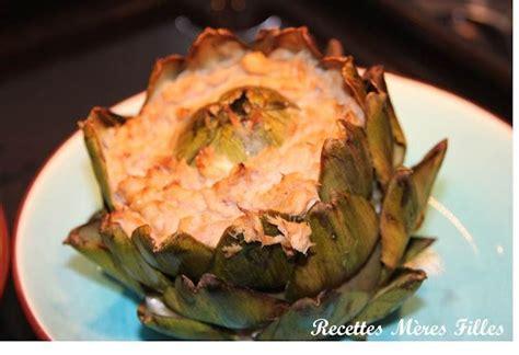 cuisine artichaut cuisson la recette artichaut artichauts farcis au thon à découvrir