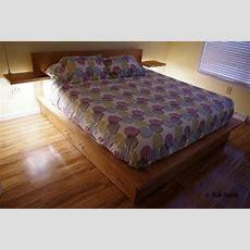 Handmade Platform Storage Bed By Scott Design Woodworx Llc