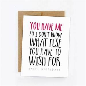 Funny birthday card. Happy birthday card. Humorous ...