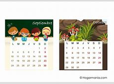 Calendario de mesa del 2018 para descargar Hogarmania