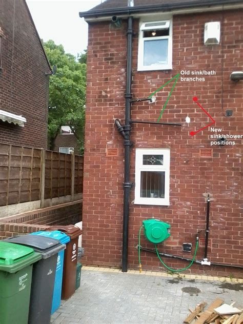 Replace a cast iron soil pipe with PVC   Plumbing job in