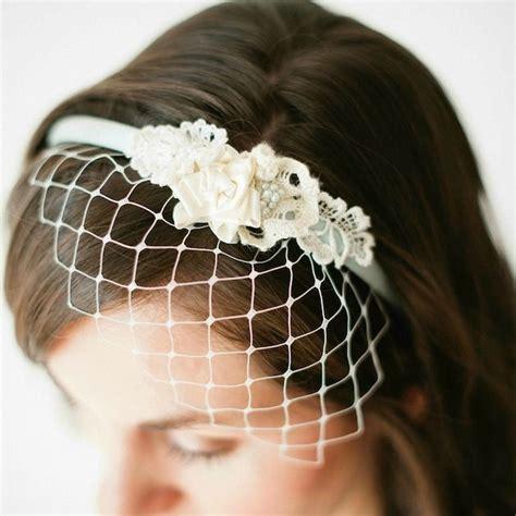 how to birdcage veil headband diy diy wedding veil