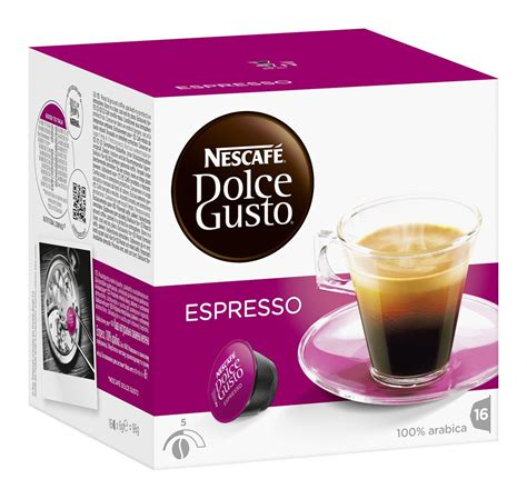 dolce gusto espresso kapseln coffee capsules dolce gusto espresso 16 best before 30
