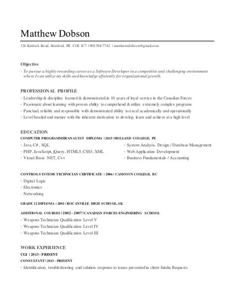 Ordinary Resume Format by Sle Resume For Ordinary Seaman