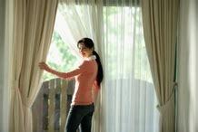 affaire des doubles rideaux tringle a rideau tringle rideau sur enperdresonlapin