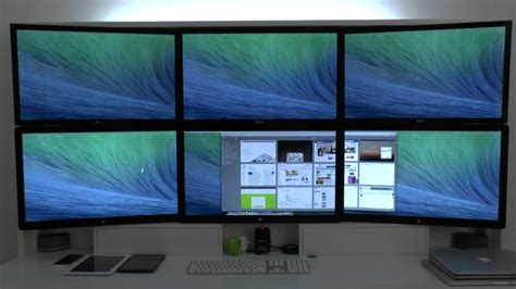 multiple screens  mac osx mavericks pros