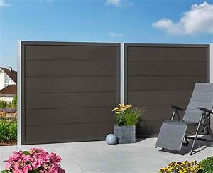 moglia wpc zaun anthrazit anthrazitcab180 x h180 cm mr With katzennetz balkon mit mr gardener moglia