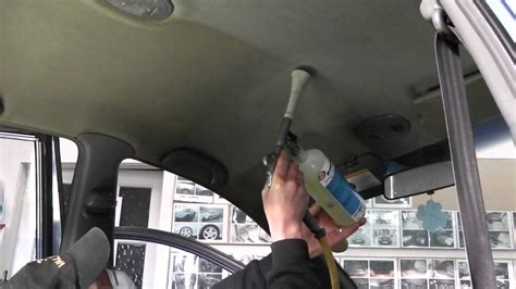 How To Fix Car Ceiling Upholstery by Roof Lining Cleaning At 3cvaleting Perth