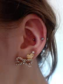 pierced ears without earrings attractive exles of snug piercing piercingeasliy