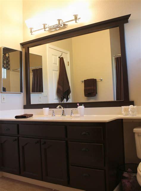 Bathroom Mirror Frames by Best 25 Framing A Mirror Ideas On Framed