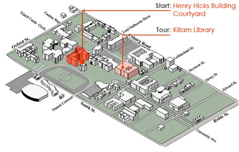 Killam Library 40th Anniversary Tour Groups
