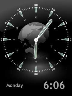 Animated Clock Wallpapers - free animated clock mobile phone wallpaper 1054