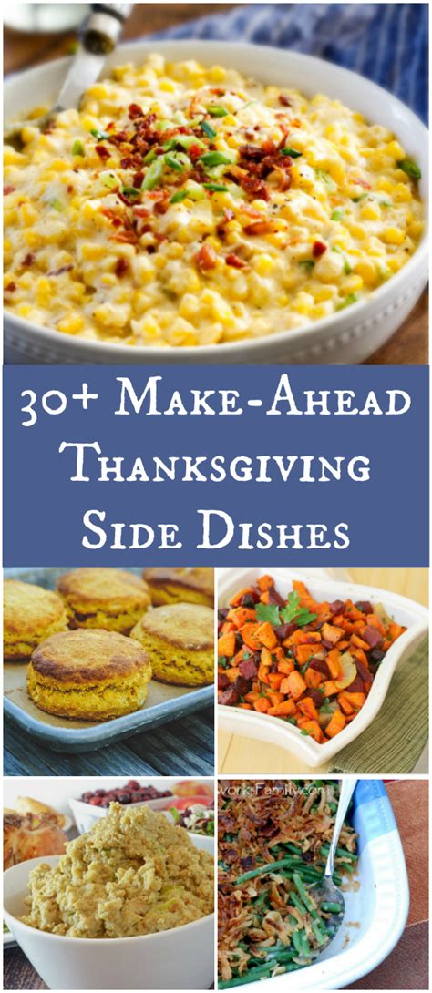 make ahead side dishes 30 make ahead thanksgiving side dishes afropolitan mom