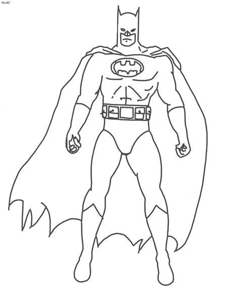batman color pages az coloring pages